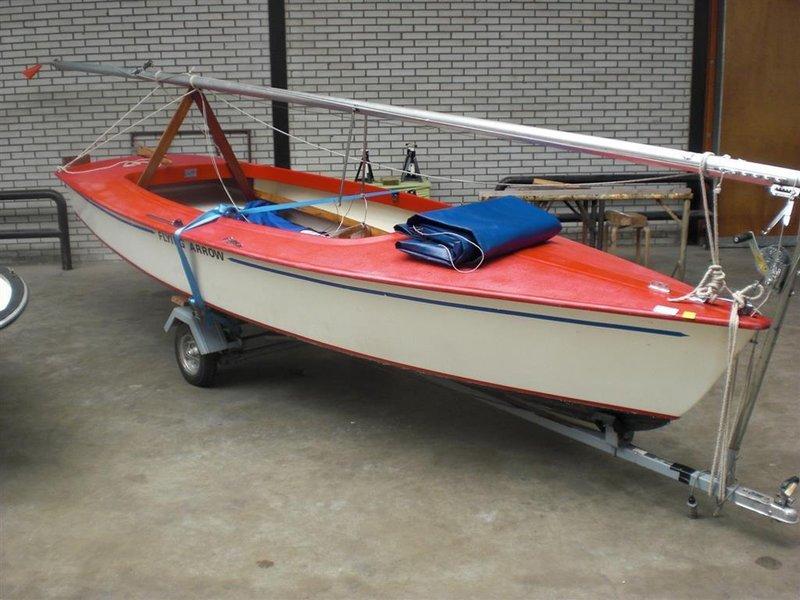 Verwonderlijk Open zeilboot Flying Arrow Schakel, polyester, voorzien van XD-63