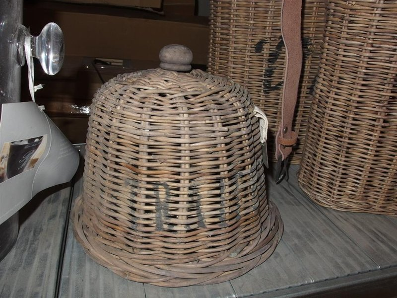 Verbazingwekkend Stolp Riviera Maison, traiteur, riet, afm. dxh ca. 24x22 cm ZY-11