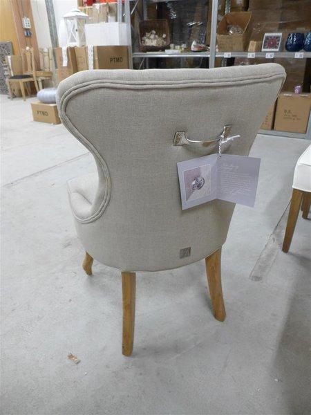 Riviera Maison Stoelen.Stoel Riviera Maison George Dining Chair Linnen Flax Nieuw In Doos