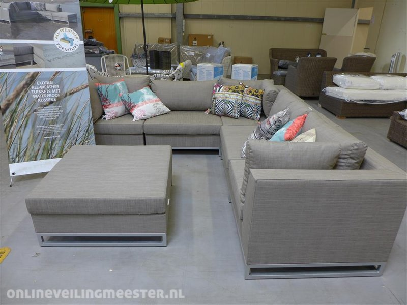 All Weather Kussens : Loungeset exotan all weather onlineauctionmaster.com