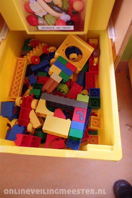 Speelgoedkast Op Wieltjes 10 Lades Incl Inhoud