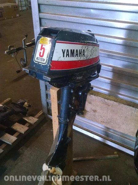 Verwonderlijk Buitenboordmotor Yamaha 5 pk, 2 takt, kortstaart, heeft onderhoud ET-63
