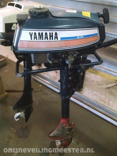 Wonderbaarlijk Buitenboordmotor, Yamaha 5 pk, 2 takt, langstaart, heeft onderhoud PW-39