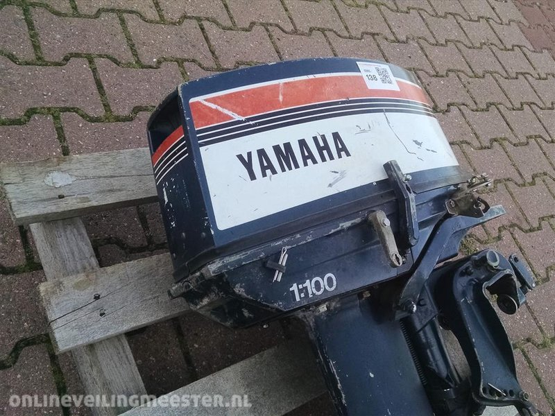 Verrassend Buitenboordmotor Yamaha, 20pk, 2 takt, start en loopt goed TR-96