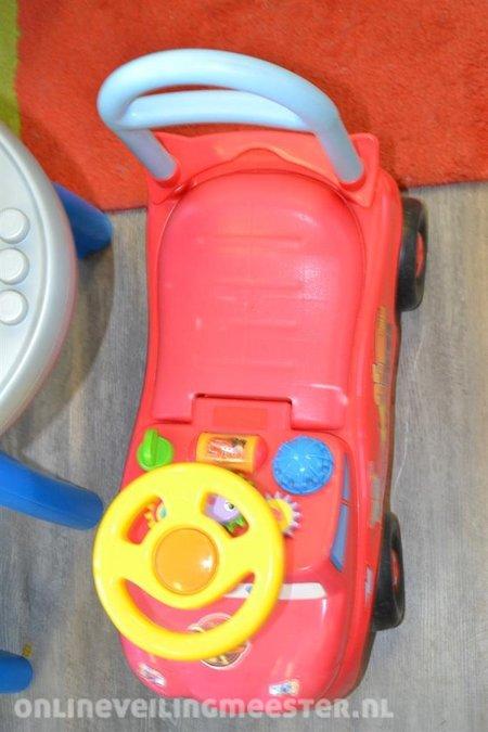 6x Speelgoed Waaronder Werkbank Auto Kralenspiraal Duplo Tafel