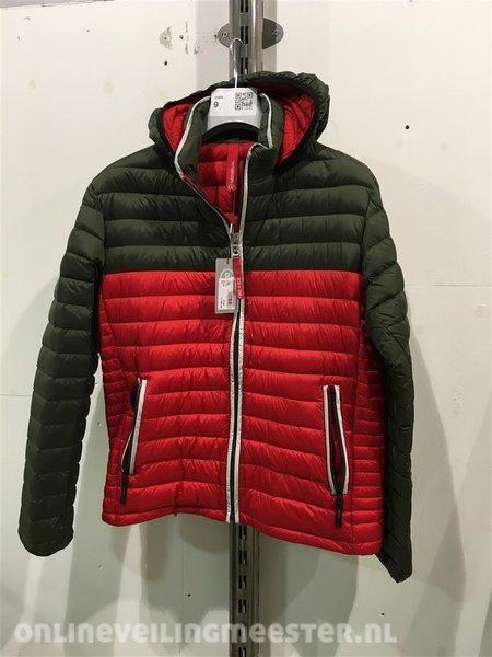 promotiecodes kind nieuw aangekomen Heren jas Bogner Fire&Ice, 340-4842, rood/groen