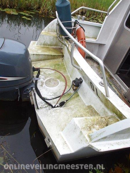Aluminum boat Van Vossen, Navigator