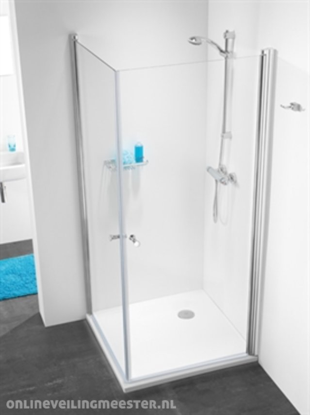 Sealskin 105 Serie.Corner Shower Cabin Sealskin Get Wet 105 Series