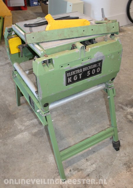 Welp Table saw - trimming machine on frame Elektra Beckum, KGT 500 AT-85