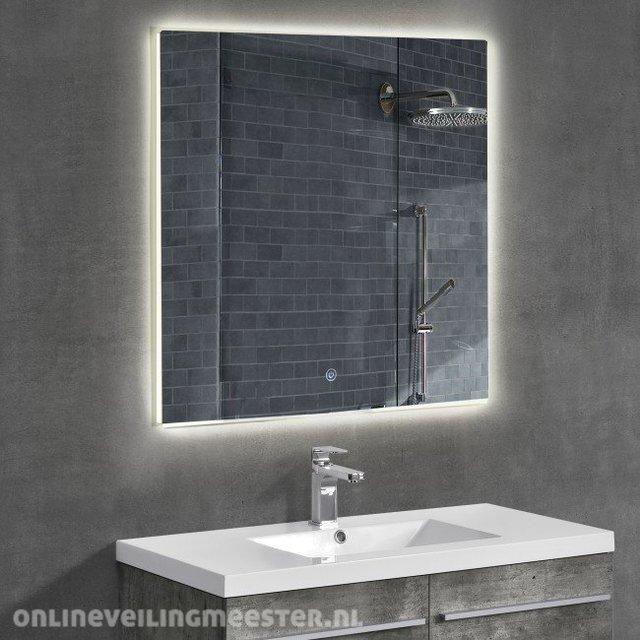 Spiegel met led verlichting - Onlineauctionmaster.com