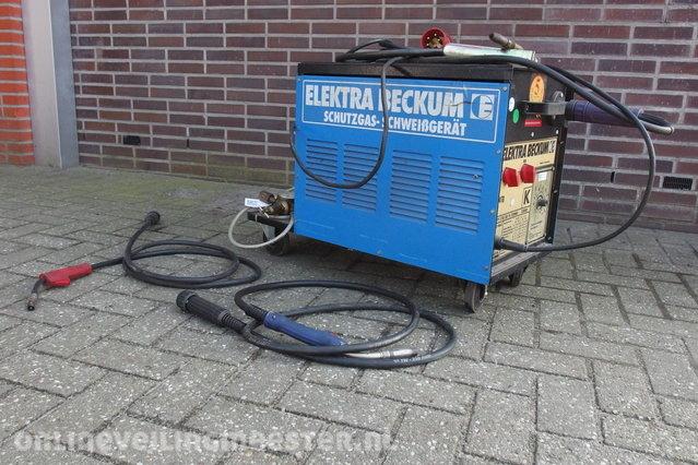 TIG welding machine Elektra Beckum, 170/30 TL Combi