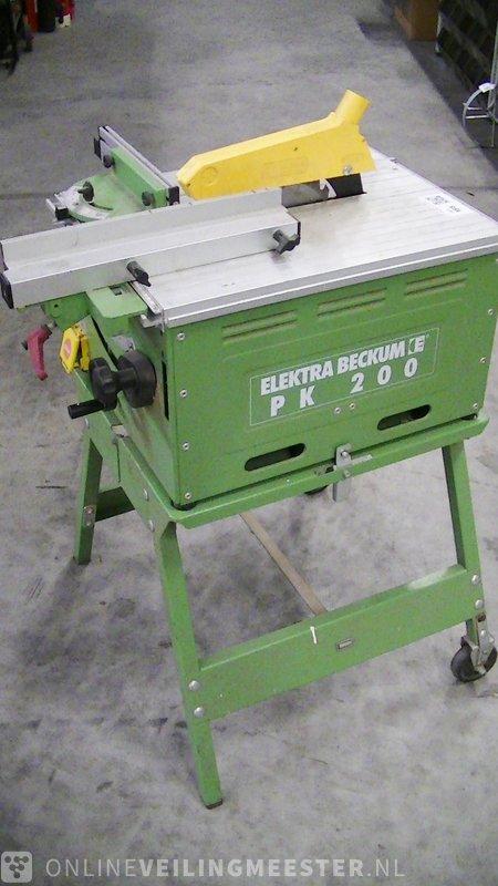 Ongebruikt Sawing machine Elektra Beckum, PK200, green - Onlineauctionmaster.com DJ-25