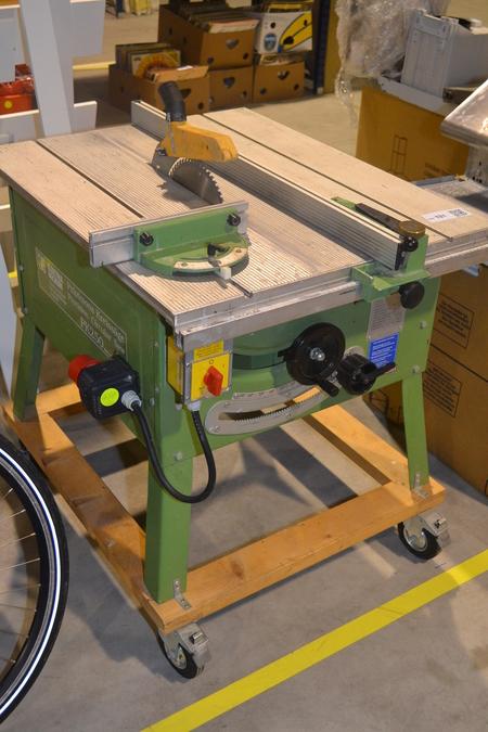 Ongebruikt Zaagtafel Elektra Beckum PK250, 380 volt - Onlineauctionmaster.com PH-63