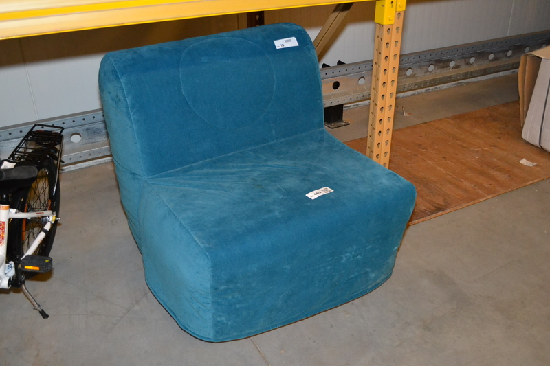 Vouwbed 1 Persoon.Vouwbed Stoel Blauw Onlineauctionmaster Com