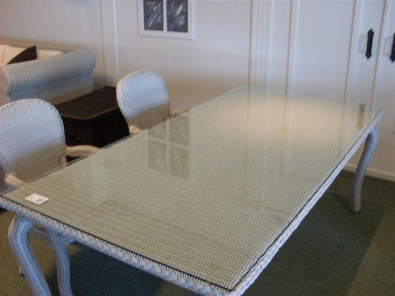 Glasplaat Voor Tafel : Glas plaat tafel rotan tafel met glasplaat jaren rohe noordwolde
