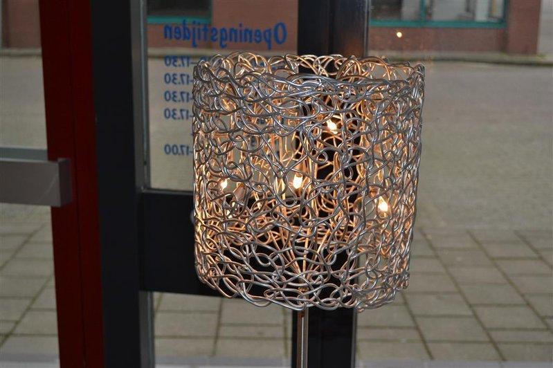 Staande lamp harco loor design incl dimmer hoogte ca cm