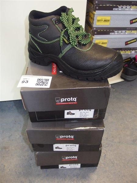 Agri Sport Werkschoenen.3x Paar Werkschoenen Protq Maat 38 En 2x Maat 45